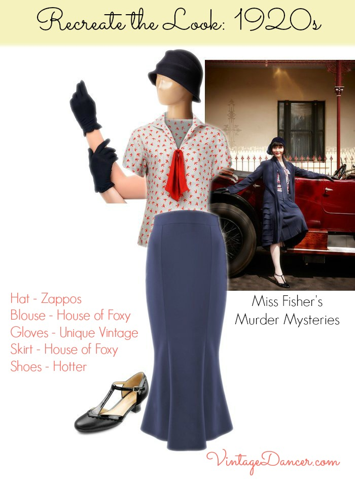 Miss Fisher Inspired Clothing 1920s Fashion