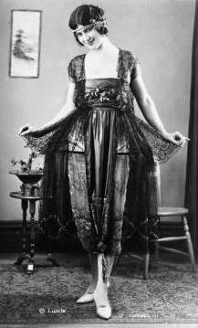 1920s robe de style the anti flapper dress