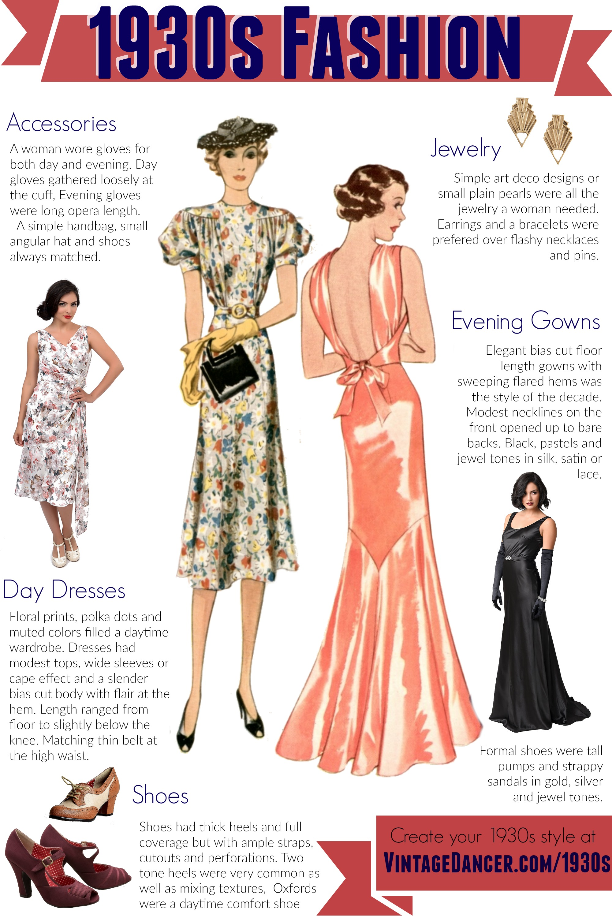 Rcbzrcbz: Plus Length Attire 1930s