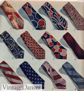 Mens Tie History   1920s to 1970s