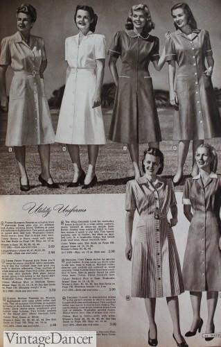1940s nurse uniforms