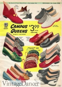 10 Popular 1950s Shoe Styles for Women