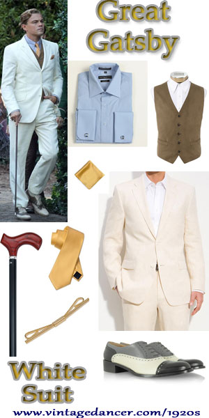 Great Gatsby White Suit Get The Leonardo DiCaprio Look