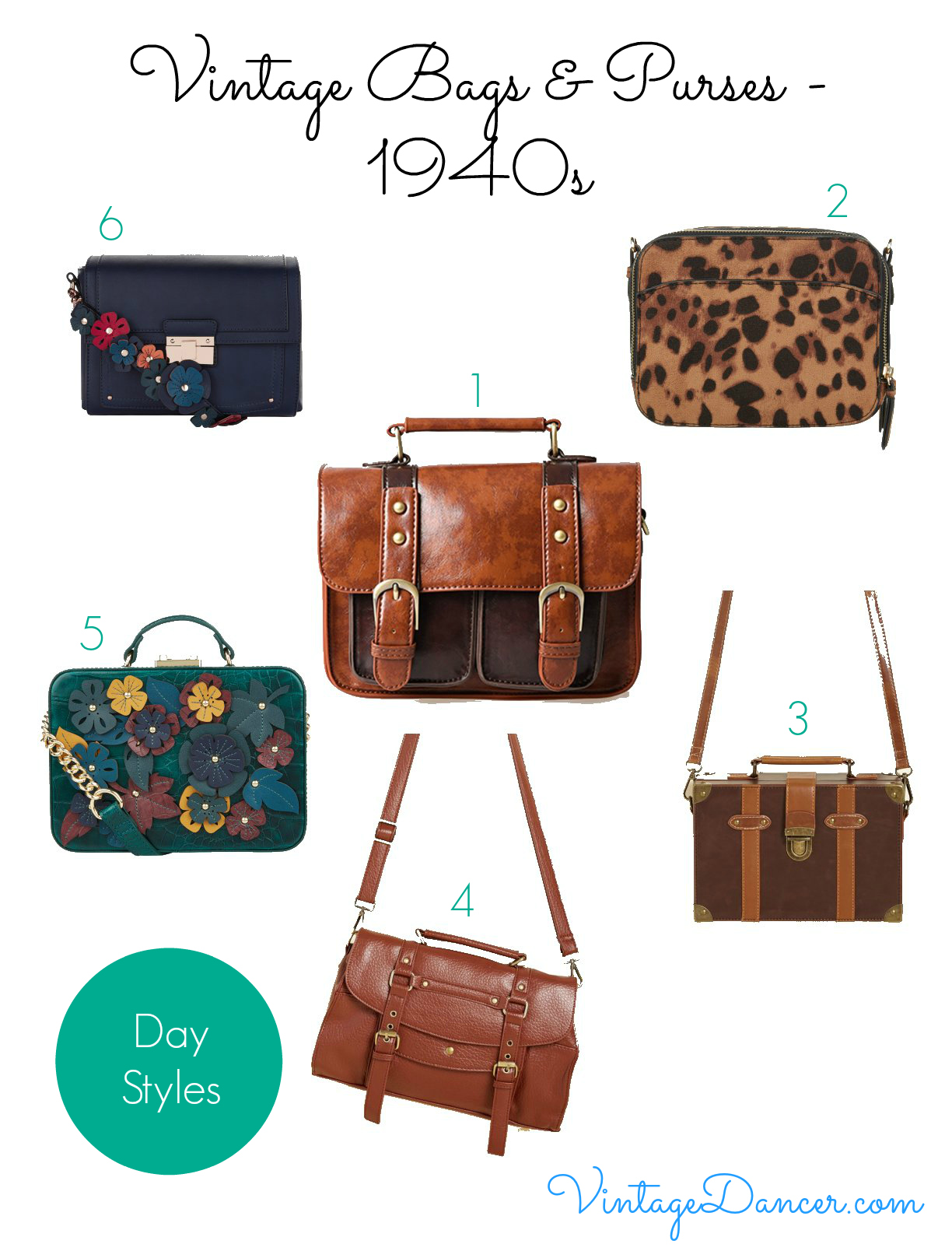 1940s Handbags and Purses History