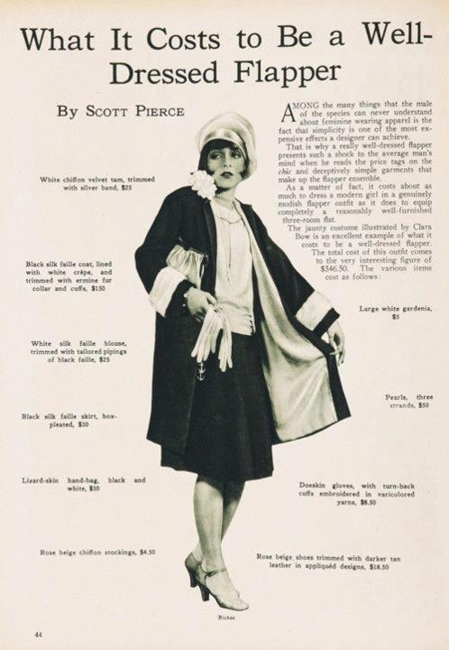1920's Flapper: Who Was She? History of Flappers in the 1920s
