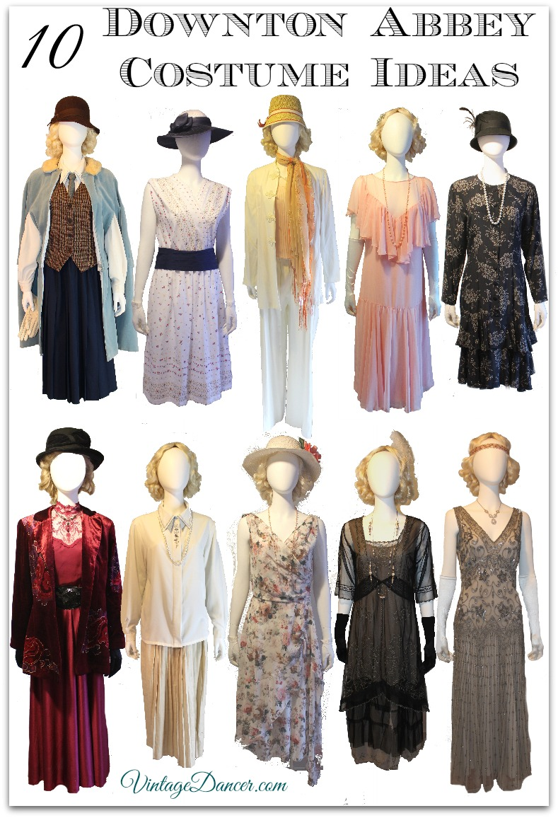1920s Outfit Ideas 10 Downton Abbey Inspired Costumes