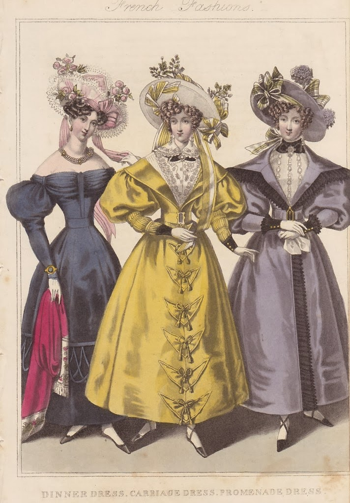1830s Dresses & Costumes to DIY