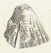 Victorian 1863 cloak