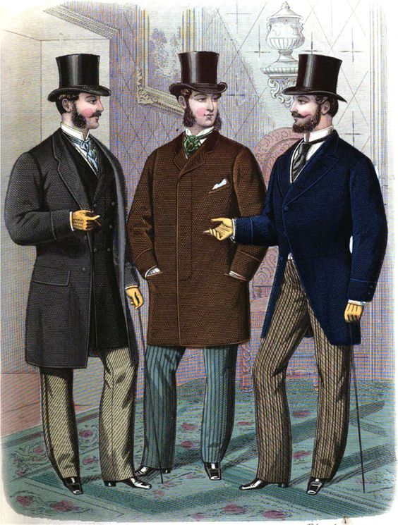 Victorian Men's Fashion History and Clothing Guide