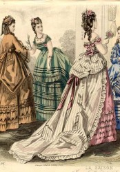 Victorian Dresses- Patterns, Costumes, Custom Dresses