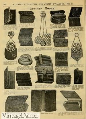 1890 Small Bags and Coin Purses