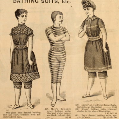 Victorian Swimsuits Patterns, Costumes | Edwardian Bathing Suits