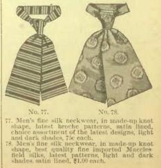 1900 Teck scarf tie