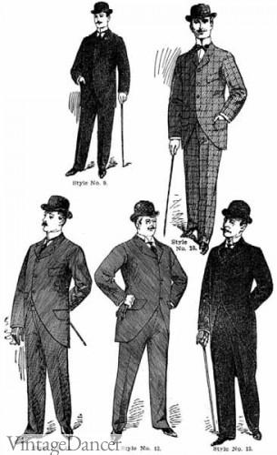 Victorian Sack Coats