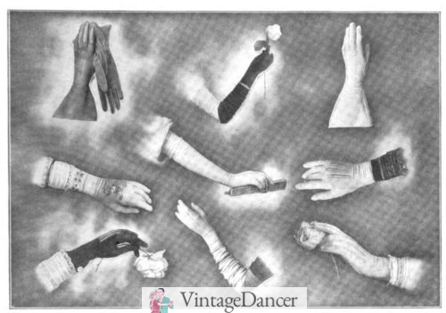 1905 fancy gloves