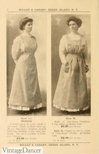 1907 ladies aprons