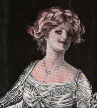 1910 Edwardian evening jewelry