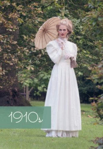 1900s 1910s costume clothing Edwardian fashion