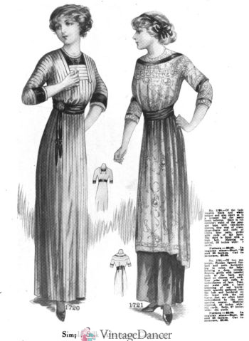 1911, Simple dresses for morning