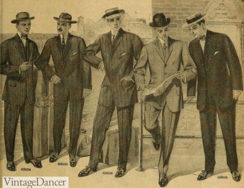 1911 mens suits