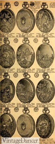 1912 Sears Pocket Watches
