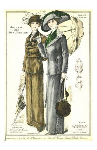 1912 Tailored Suits, Titanic era fashion