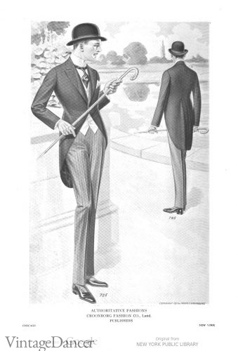 1917 morning suit
