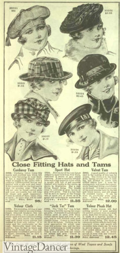 1918 hats and tams women