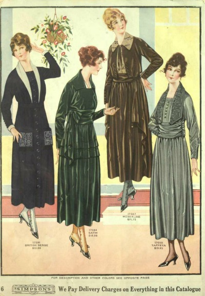 Mr. Selfridge dresses costumes 1919