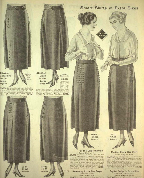1920 skirt for plus sizes