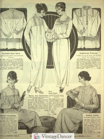 1920 Nightgowns