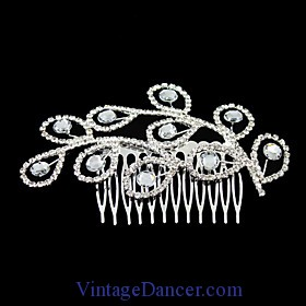 downtown abbey modern clothes hair comb