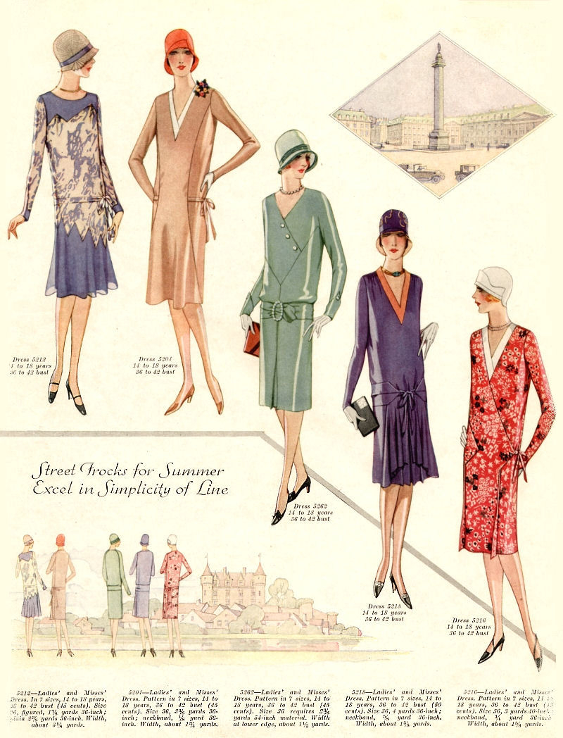 4c53b23c6 1920s Women's Fashion & Clothing Trends
