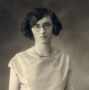 Ladies round eyeglasses 1920s women