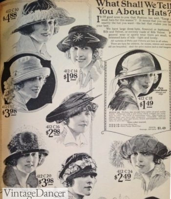 Early '20s garden hats