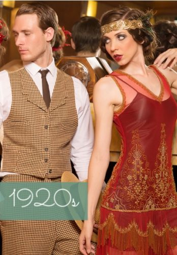 1920s clothing costumes outfit fashions