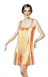 1920s Lingerie History- Slips, Steps Ins, Robes, Night Gowns and Bed Caps