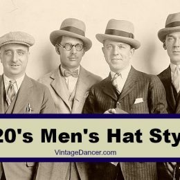 1920s Mens Hats – 8 Popular Styles