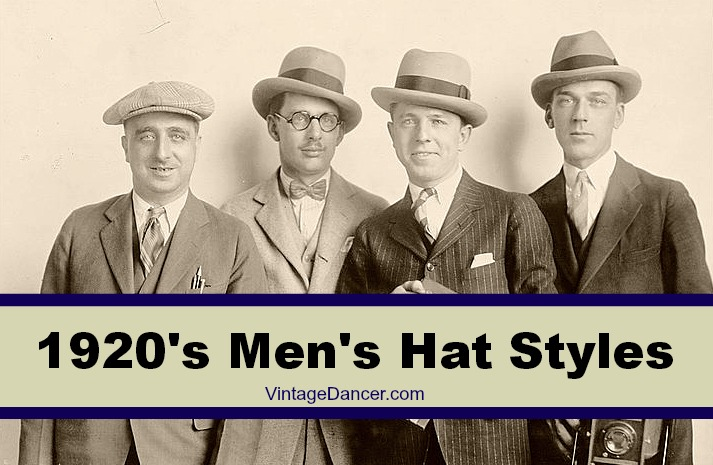 1920s Mens Hats  Great Gatsby Era Hat Styles fa77feaa725