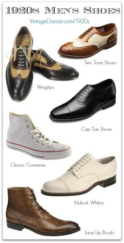 1920s men's shoe styles