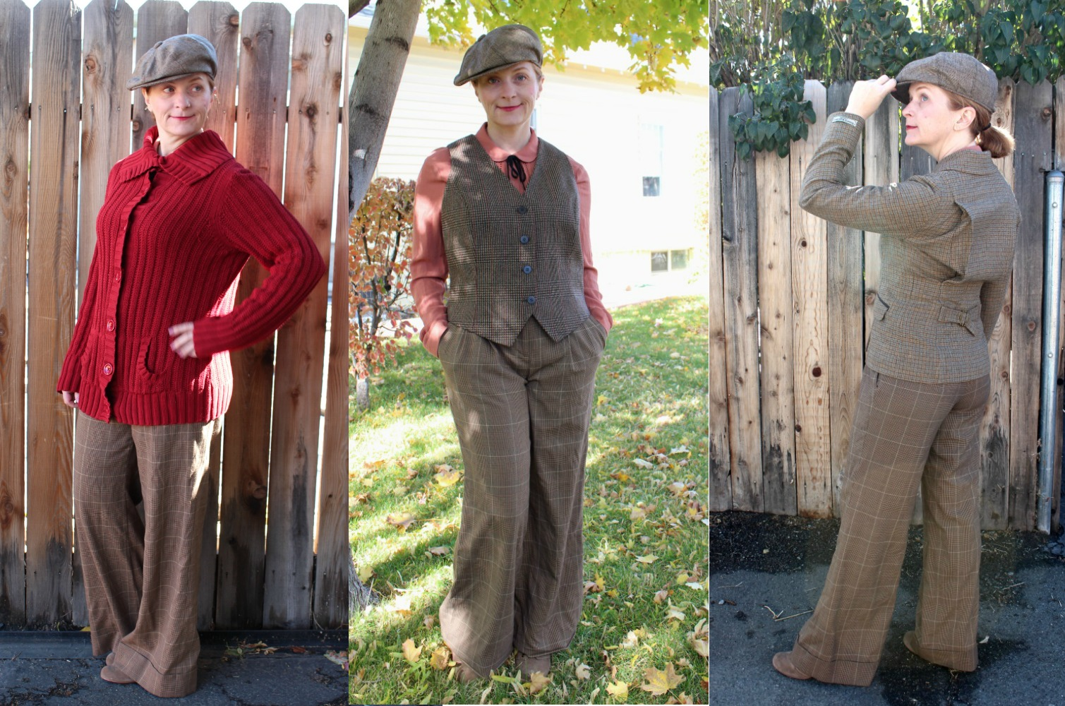 1920s casual menswear for women sporty costume ideas