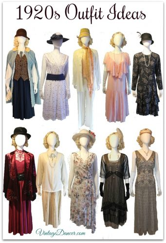 1920s Outfit ideas inspired by Downton Abbey