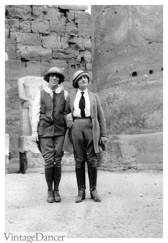 1920s 1930s hiking clothes