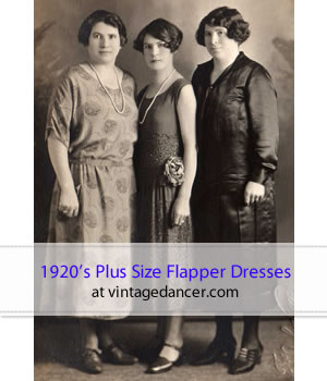 1920s Plus Size Fashion In The Jazz Age