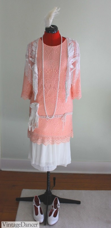 1920s garden or tea party dress