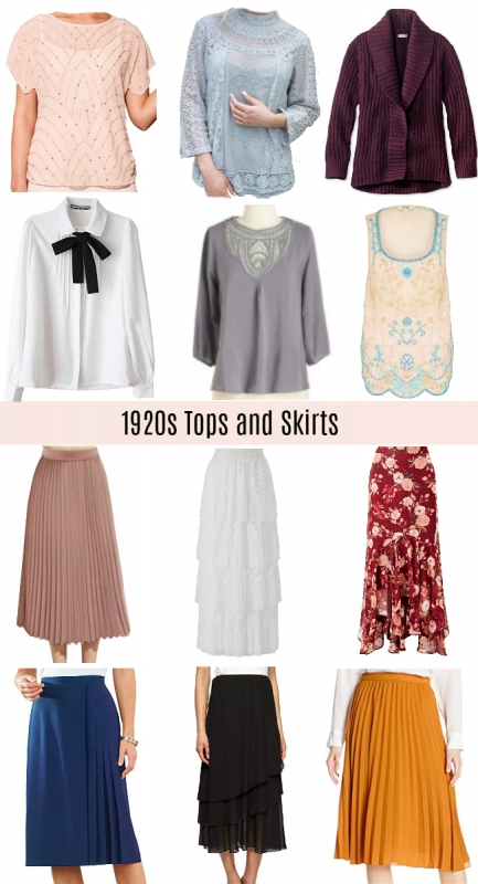 Non-Flapper 1920s Outfit Ideas