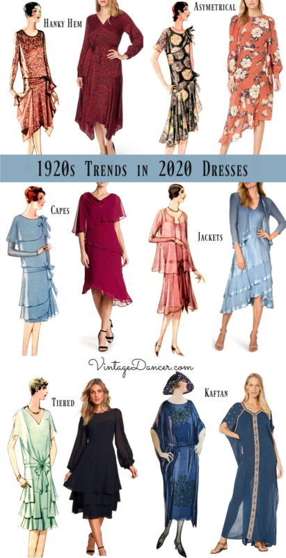 1920s dresses in 2020 trends new 20s style dresses for daytime authentic outfits