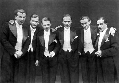 Throughout the decade, men wore short suit jackets, the old long jackets being used merely for formal occasions. In the early s, men's fashion was characterized by .