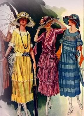1921 afternoon party dresses