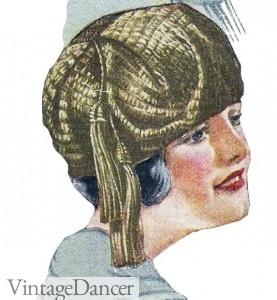 1920s Turban hat